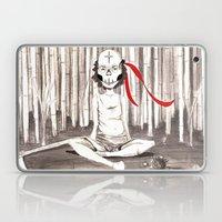 Death Wears A Mask Laptop & iPad Skin