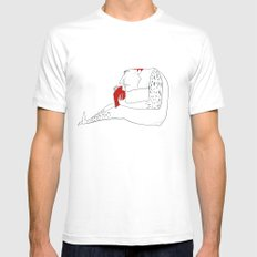 reader Mens Fitted Tee White SMALL
