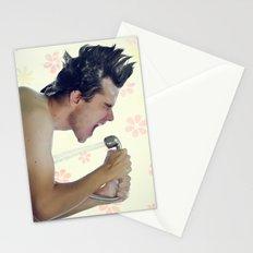 shower rockstar Stationery Cards