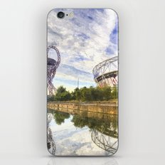 West Ham Olympic Stadium And The Arcelormittal Orbit Art iPhone & iPod Skin