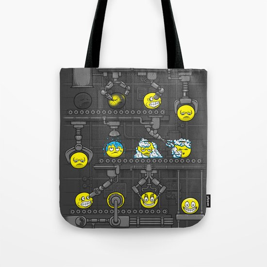 Smiley Factory Tote Bag