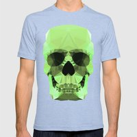Polygon Heroes - Emerald… Mens Fitted Tee Tri-Blue SMALL