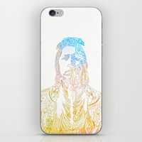 motif of a portrait II iPhone & iPod Skin