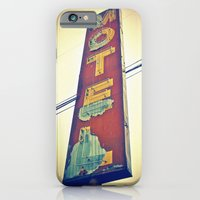 iPhone & iPod Case featuring Motel Americana sign by Vorona Photography