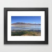 Bolivian Salt Flats Framed Art Print