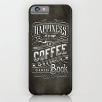 iPhone & iPod Case featuring Coffee - Typography by tomekbiernat