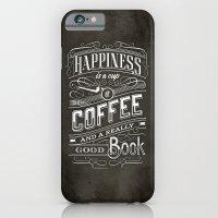 Coffee - Typography iPhone 6 Slim Case