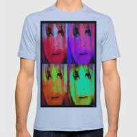 Sharon Tate Mens Fitted Tee Athletic Blue SMALL
