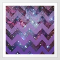 Infinite Purple Art Print