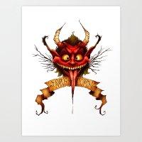 Krampus is Coming Art Print