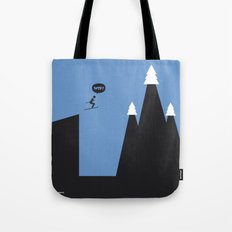 WTF? Ski Tote Bag