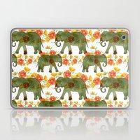 Wading Elephants Laptop & iPad Skin