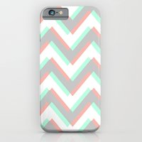 iPhone & iPod Case featuring ECHO CHEVRON by natalie sales