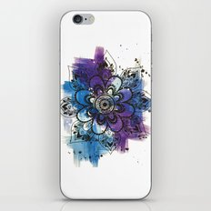 Mandala Flower iPhone & iPod Skin