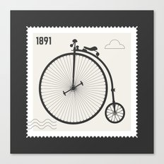 Penny Farthing 1891 Canvas Print