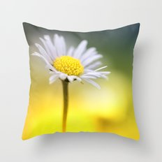 Sunny.... yesterday my life.... Throw Pillow