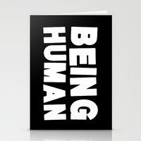 Being Human Stationery Cards