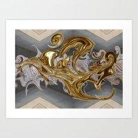 Brass Beast Art Print