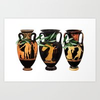 Ancient Greek Art Print