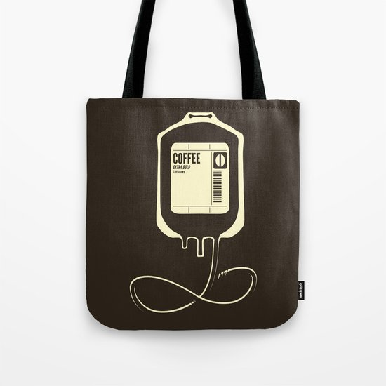 Coffee Transfusion Tote Bag