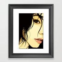The Tale Of A Girl Framed Art Print