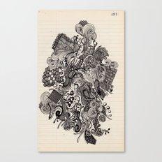 Untitled Vomit Canvas Print