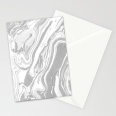 Marble - Grey Wash Stationery Cards