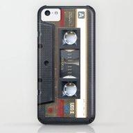 Cassette Gold iPhone 5c Slim Case
