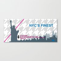 NYC's Finest Canvas Print