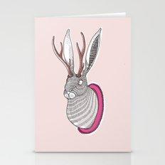 Deer Rabbit Stationery Cards