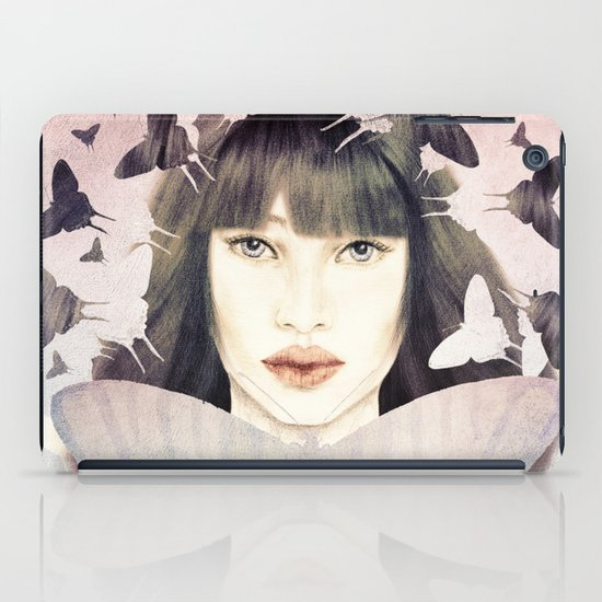 The Time of Butterflies iPad Case