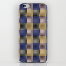 Pixel Plaid - Spring Thaw iPhone & iPod Skin