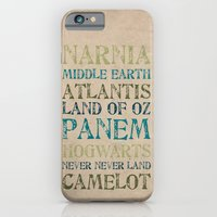 iPhone & iPod Case featuring Fantasy Realms by Grace Kelly McConnell
