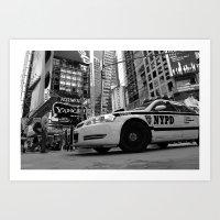 New York #01 Art Print