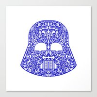 Darth Canvas Print