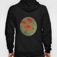 Poppies-3 Hoody