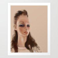 Cr4stal  Art Print