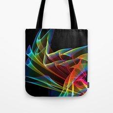 Dancing Northern Lights, Abstract Summer Sky Tote Bag