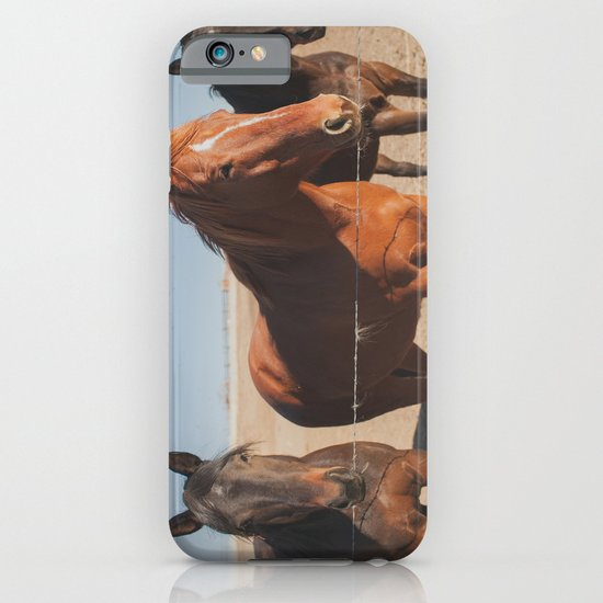 HORSES! iPhone & iPod Case