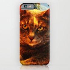 cat in bazaar iPhone 6 Slim Case