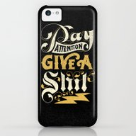 Pay Attention  iPhone 5c Slim Case