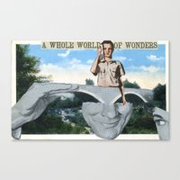 World Of Wonders Canvas Print