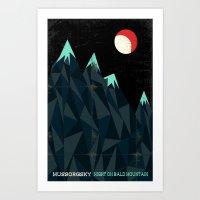 Night On Bald Mountain -… Art Print