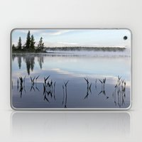 trees and weeds reflected Laptop & iPad Skin