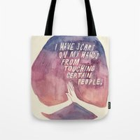 From Touching People Tote Bag