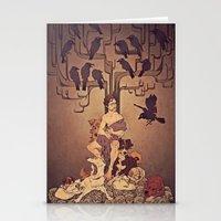 Meditations On Murder - … Stationery Cards