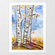 feels like autumn  Art Print