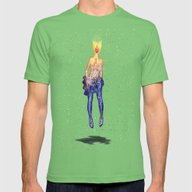 Euphoria Mens Fitted Tee Grass SMALL