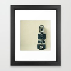 Camera Love Framed Art Print