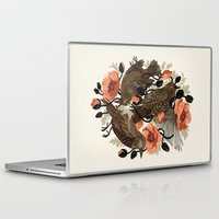 zombie Laptop & iPad Skins featuring Spangled & Plumed by Teagan White